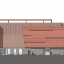 GateWay Community College / SmithGroup JJR West Elevation 01