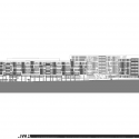 Residential and Nursing Home Simmering / Josef Weichenbrger Architects + GZS Elevation 01