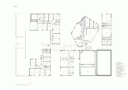 St john s school marlborough re format llp archdaily for Marlborough house floor plan