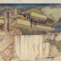 Frank Lloyd Wright Archives relocates to New York (2) Fallingwater Edgar J. Kaufmann House, Mill Run, PA. 1934-37. The Frank Lloyd Wright Foundation Archives (The Museum of Modern Art | Avery Architectural &amp; Fine Arts Library, Columbia University, New York)