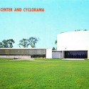 An old post card of the Cyclorama - Courtesy of Flickr user fauxto_digit