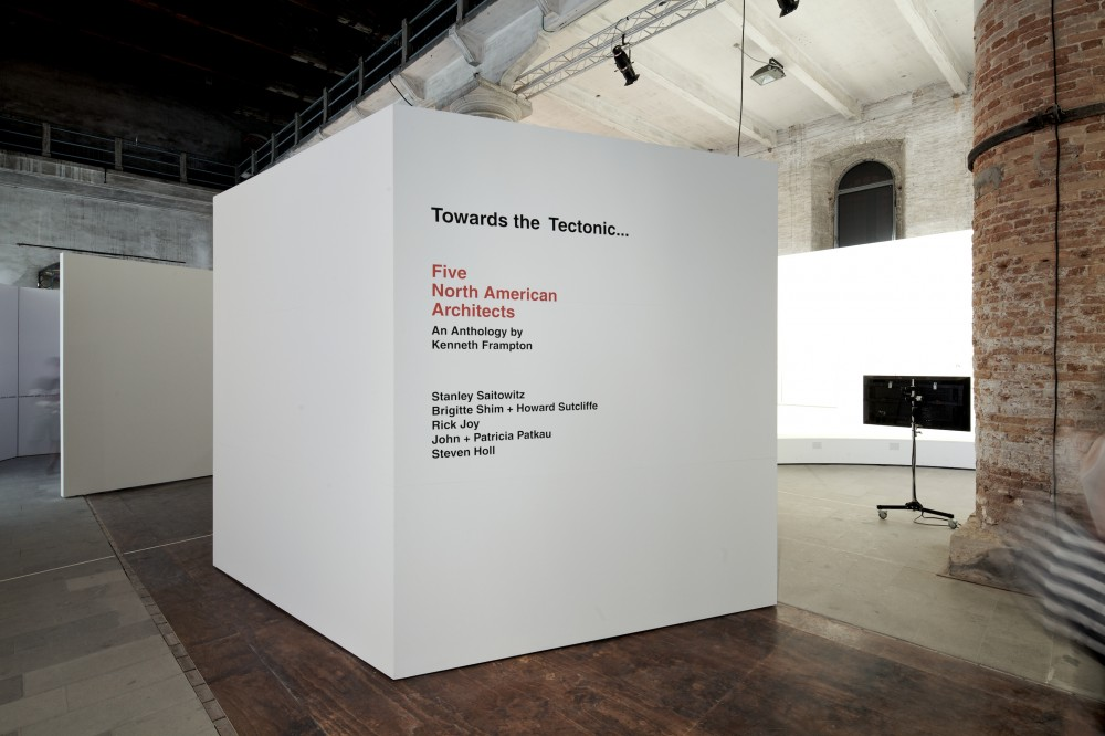Venice Biennale 2012: Five North American Architects / Kenneth Frampton