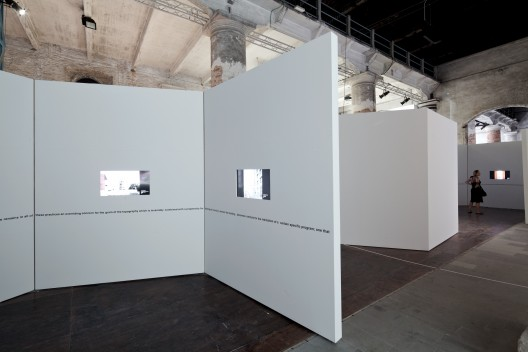 Venice Biennale 2012: Five North American Architects (2) © Nico Saieh