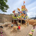 The Movement Cafe / Morag Myerscough  (1) Courtesy of Morag Myerscough and Luke Morgan