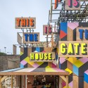 The Movement Cafe / Morag Myerscough  (7) Courtesy of Morag Myerscough and Luke Morgan