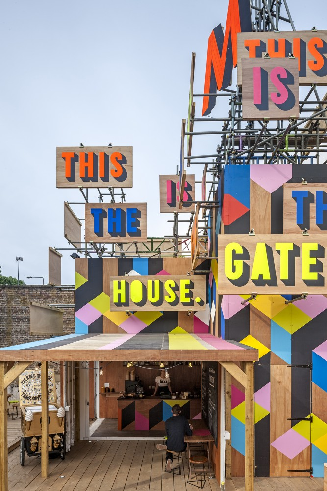 The Movement Cafe / Morag Myerscough