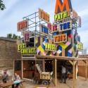 The Movement Cafe / Morag Myerscough  (5) Courtesy of Morag Myerscough and Luke Morgan