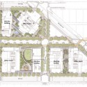 Amazon&#039;s Seattle Headquarters / NBBJ (19) Site Plan 01, Amazon&#039;s Seattle Headquarters; Images  NBBJ