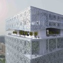 Tehran Stock Exchange Competition, 2nd Prize (3) Courtesy of Hadi Teherani Office + Design Core [4S]