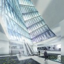 Tehran Stock Exchange Competition, 2nd Prize (4) Courtesy of Hadi Teherani Office + Design Core [4S]