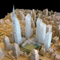 Ground Zero Master Plan / Studio Daniel Libeskind (11) Competition Model  SDL