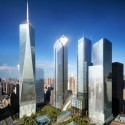 Ground Zero Master Plan / Studio Daniel Libeskind (1) WTC Site Day, Silverstein Properties, New York  Silverstein Properties