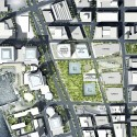 Ground Zero Master Plan / Studio Daniel Libeskind (8) Ground Zero Master Plan © SDL