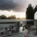 Veracruz Arquitectos Sede de asociación (3) Cortesía de lab07 + JMV Arquitectos