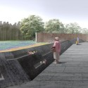 Flight 93 National Memorial / Paul Murdoch Architects (25) Memorial Plaza, Competition Rendering  Biolinia &amp; Paul Murdoch Architects
