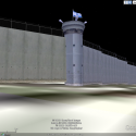 Kalandia Checkpoint. The First New Gate To Jerusalem in 466 Years. (6) 3D Model of Kalandia, Google screen shot - Courtesy of Harris Silver