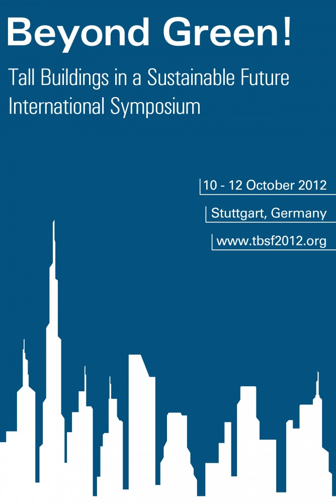 &#8216;Beyond Green! Tall Buildings in a Sustainable Future&#8217; Symposium