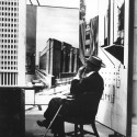 Video: The late Pedro E. Guerrero speaking at the Julius Shulman Institute (8) Teabreak #1 at the Guggenheim Pavilion, 1953, New York City  Pedro E. Guerrero, Courtesy Edward Cella Art+Architecture