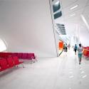 Keelung Harbor Building Service / Neil M. Denari Arquitectos (13) Concourse 3F Terminal - Cortesía de Neil M. Denari Arquitectos