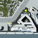 Keelung Harbor Service Building / Neil M. Denari Architects (19) Siteplan - Courtesy of Neil M. Denari Architects