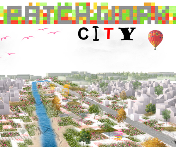 Patchwork City Masterplan / OOIIO Architecture