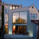 garden view Hill Top House, Oxford (private house) / Adrian James Architects
