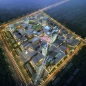 Mixed-Used Masterplan of YueHaiWanJia Commercial District (2) Courtesy of SURE Architecture