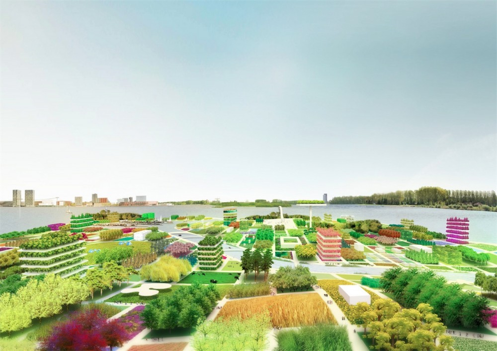 Almere with MVRDV selected for Floriade 2022!
