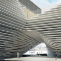 V&A at Dundee / Kengo Kuma & Associates (7) Promenade trhough the building © Kengo Kuma & Associates