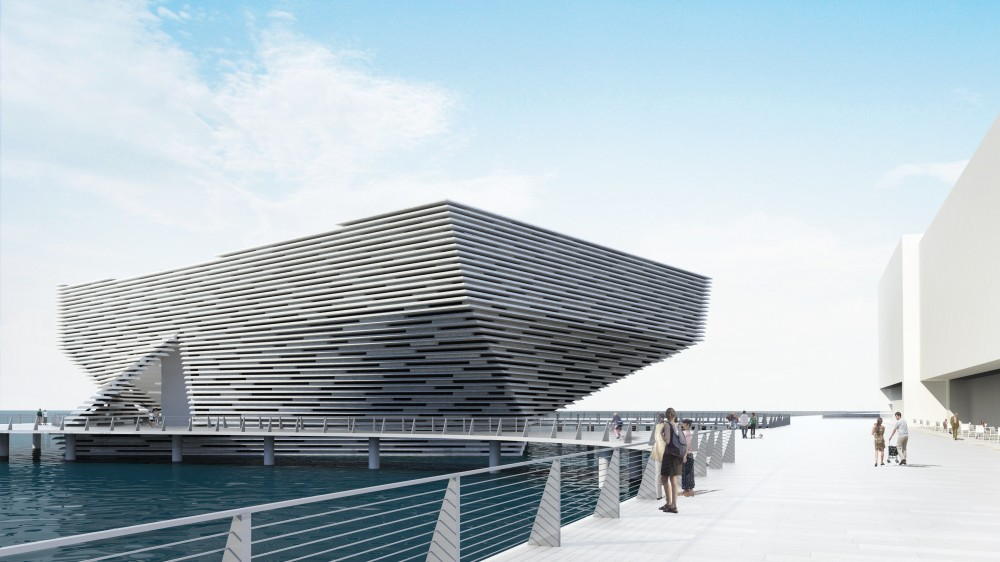 V&A at Dundee / Kengo Kuma & Associates