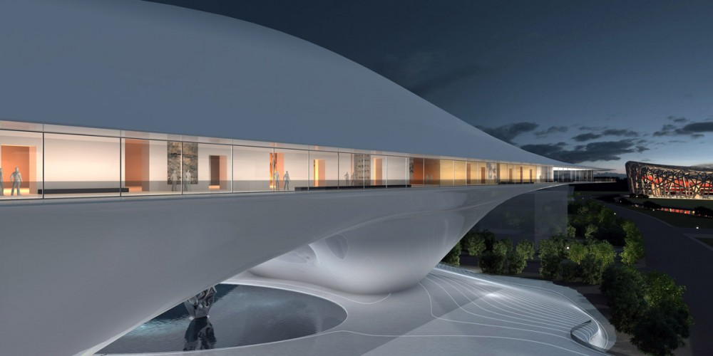 National Museum of China Competition Entry / MAD Architects