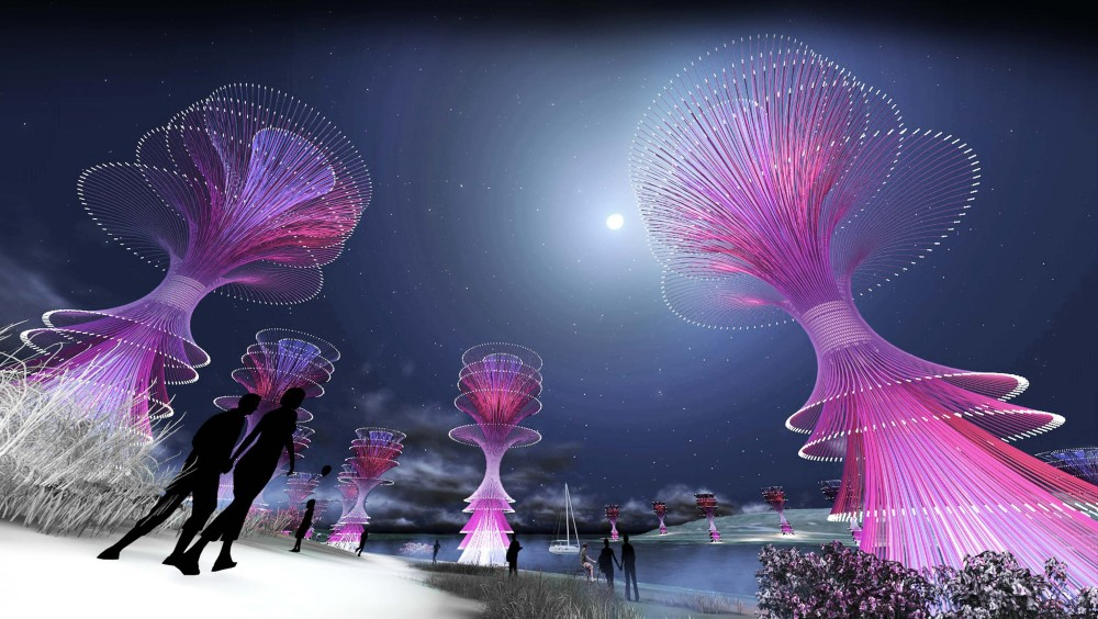 'Wind Fountain' Competition Entry / Gembong Reksa Kawula