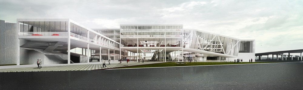 City Hall Vrzea Paulista Competition Entry / Brazilian Architects