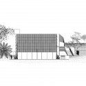 Habitat ITESM Leon / SHINE Architecture + TAarquitectura North Elevation 01