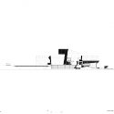 OCT Shenzhen Clubhouse / Richard Meier Architects West Elevation 01
