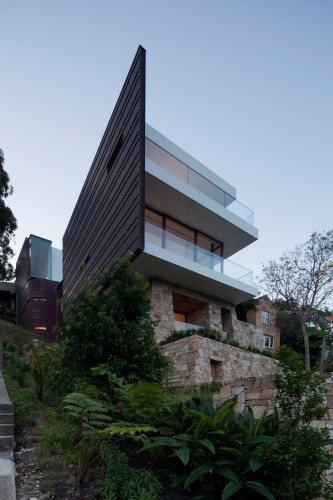 Chinaman's Beach House / Fox Johnston © Brett Boardman
