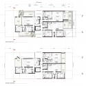 Rose Bay Apartments / Hill Thalis Architecture First & Second Floor Plan 01