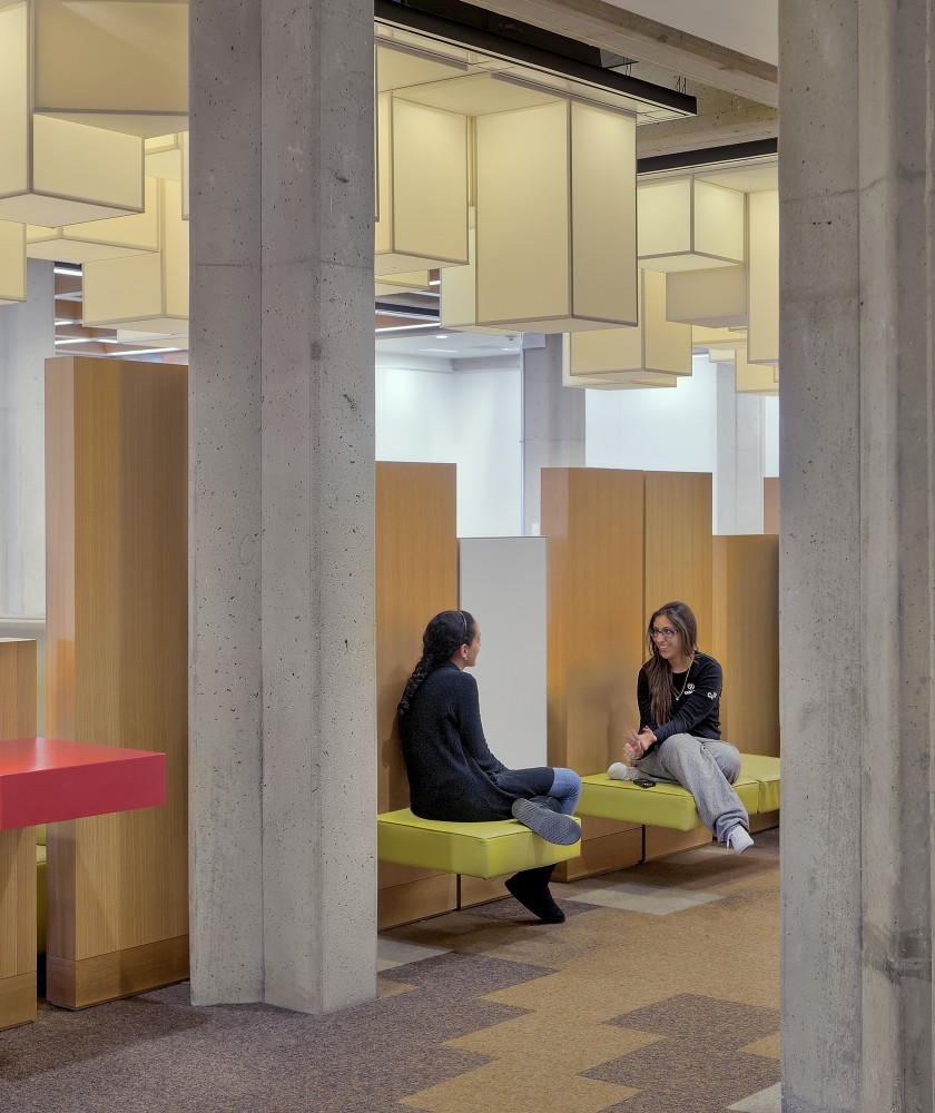York University Learning Commons / Levitt Goodman Architects