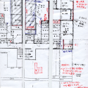 Sayama Flat / Schemata Architects Sketch Of Plan 01