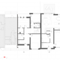 House Extension in Prague / Martin Cenek Architecture Ground Floor Plan 01
