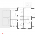 House Extension in Prague / Martin Cenek Architecture First Floor Plan 01