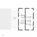 House Extension in Prague / Martin Cenek Architecture Second Floor Plan 01