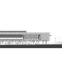 Jessie-Owens Gymnasium / Épicuria Architectes West Elevation 01