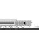 Jessie-Owens Gymnasium / Épicuria Architectes West Elevation 01