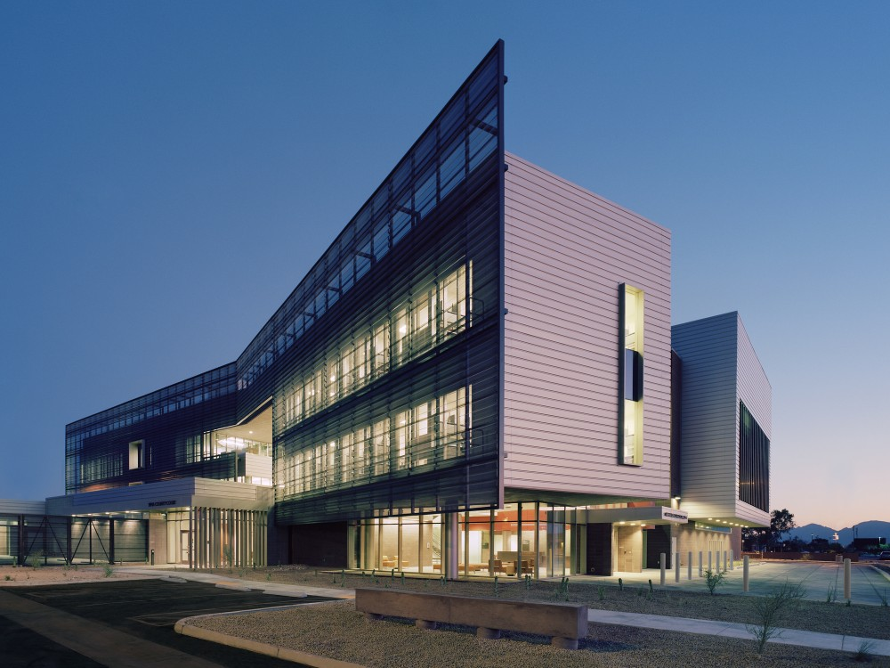 Architecture photography university of arizona medical for Website design for architects