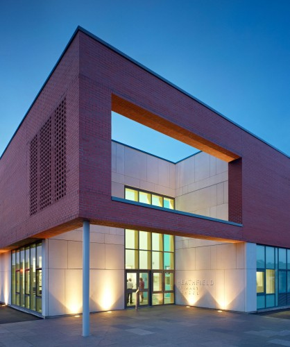 School Building Elevations : Heathfield primary school holmes miller architect