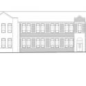 Heathfield Primary School / Holmes Miller Architect Elevation 01