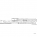 Admissions Center, Brandeis University / Charles Rose Architects Inc. Elevation 01