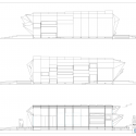 Endesa Pavilion / IaaC Elevation & Section 02