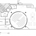 Bechtel Conference Center at PPIC / Marcy Wong Donn Logan Architects Floor Plan 01
